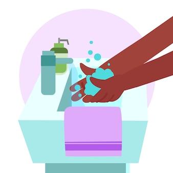 Помой руки