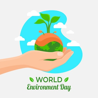 世界環境デーのコンセプト
