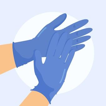 保護用手袋