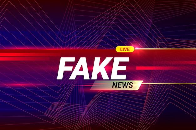 Живая фальшивая новостная лента