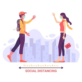 Концепция предотвращения социального дистанцирования