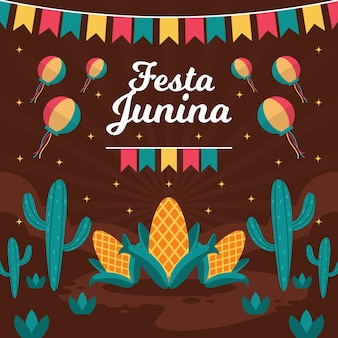 フェスタ・ジュニーナのお祝い日
