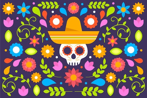 カラフルなメキシコの背景