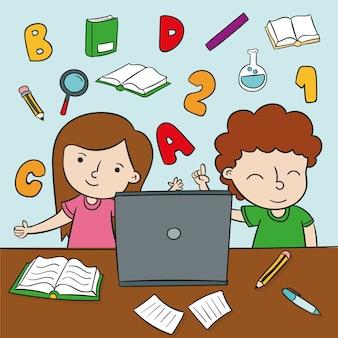 Детские онлайн уроки