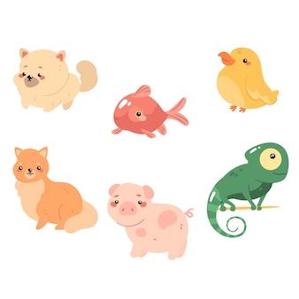 Концепция разных животных