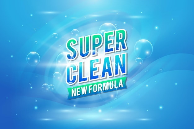Вирицидное и бактерицидное чистящее средство