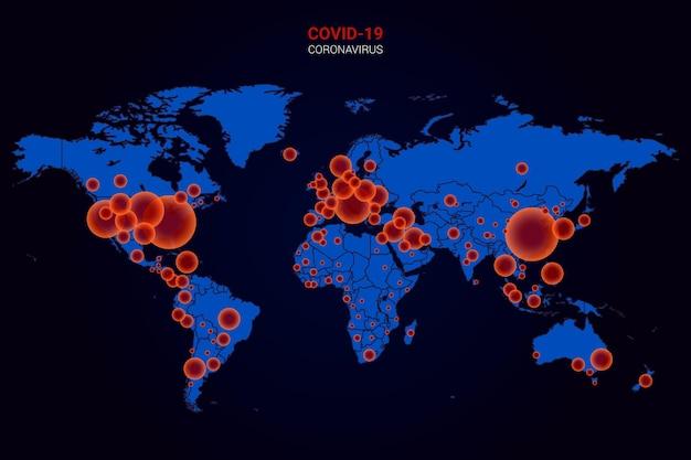 Коронавирусная карта