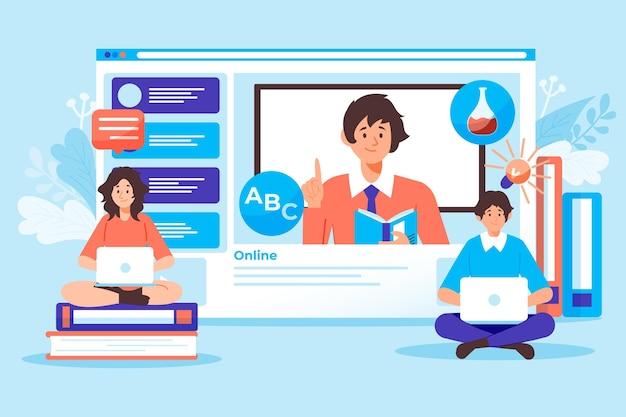 Концепция онлайн-курсов