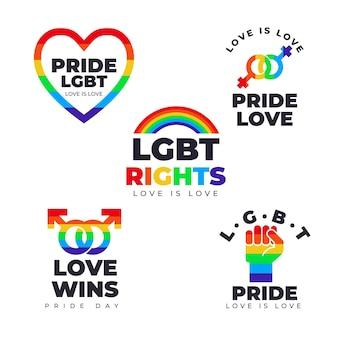 Коллекция значков гордости