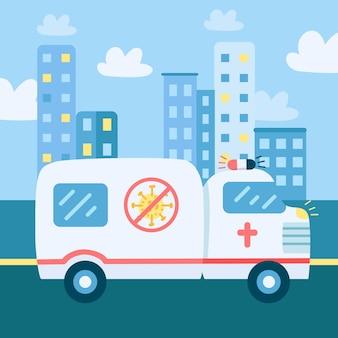 緊急救急車のコンセプト