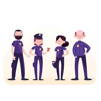 警察コレクションのコンセプト