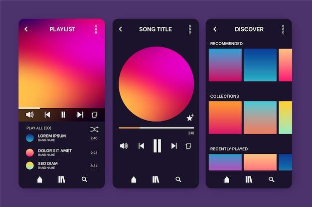 音楽プレーヤーアプリ