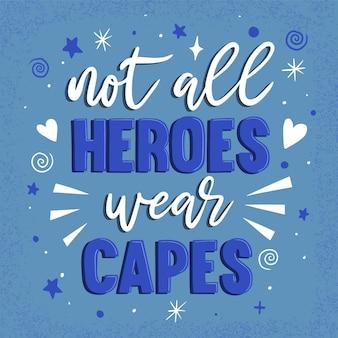 すべての英雄はマントを着用していません