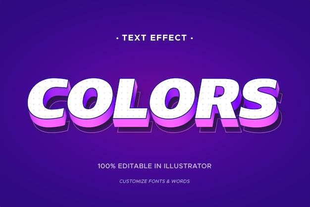 Концепция текстового эффекта