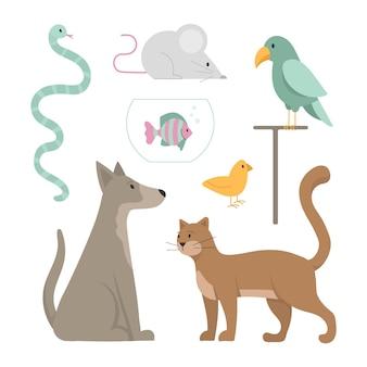 Разные домашние животные