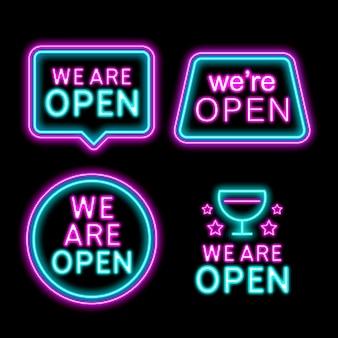 私たちと一緒にネオンサインコレクションがオープンしています