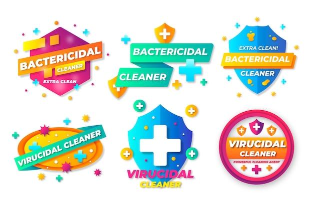 殺ウイルス性および殺菌性のクリーナーラベル