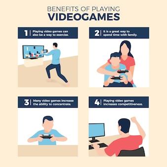 ビデオゲームをプレイする利点