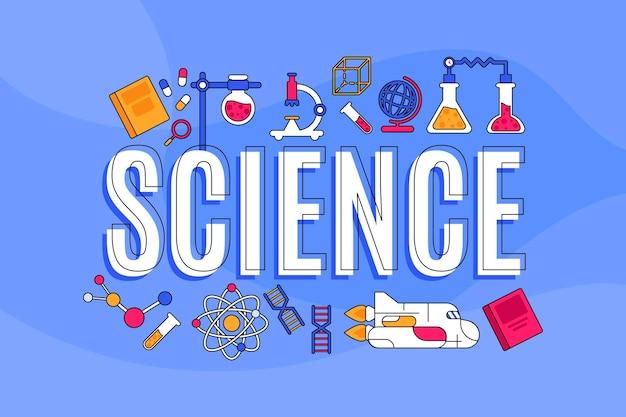 Наука слово концепция