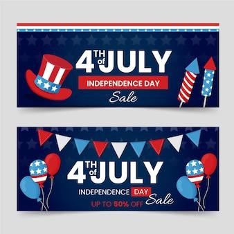 День независимости баннеры тема