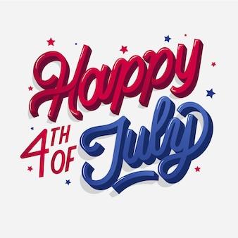 День независимости сша надписи концепция