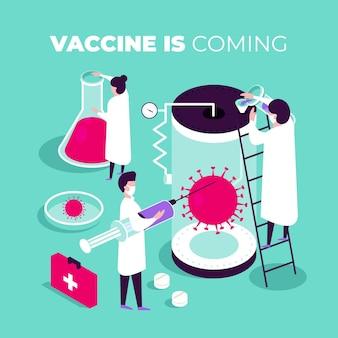 等尺性コロナウイルスワクチン開発