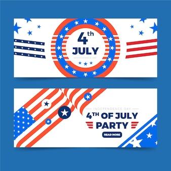 День независимости баннеров шаблон