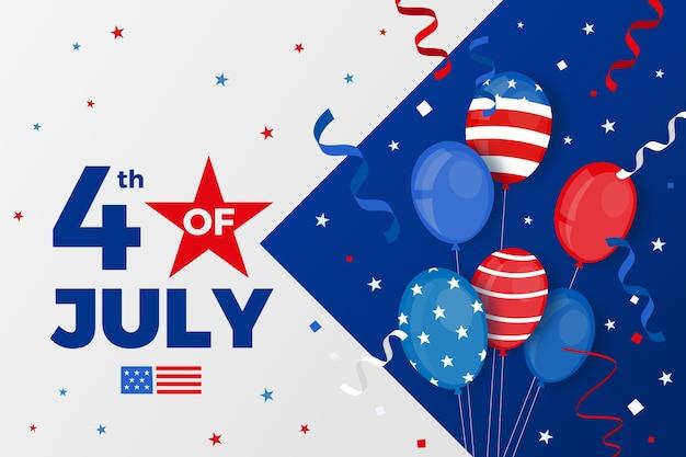 День независимости фоновой концепции