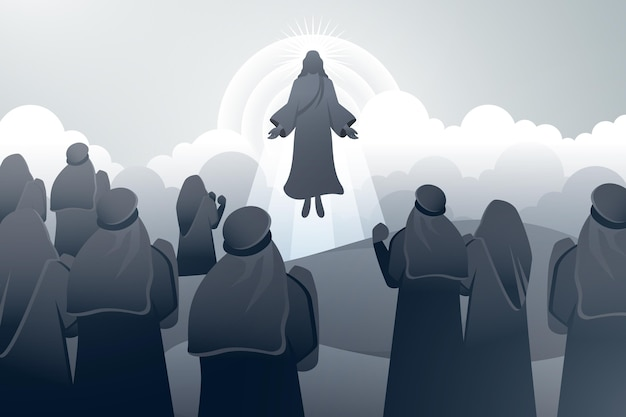 День вознесения с иисусом