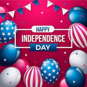 独立記念日の背景