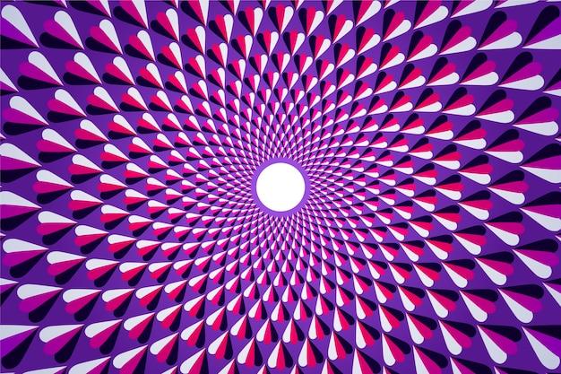 サイケデリックな錯覚の背景
