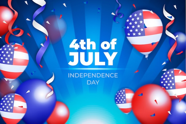 Реалистичная концепция дня независимости сша