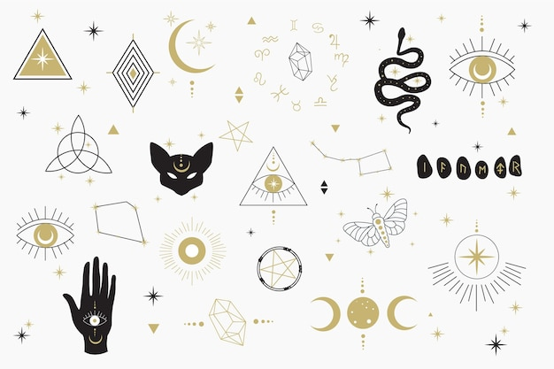 Эзотерические элементы дизайна