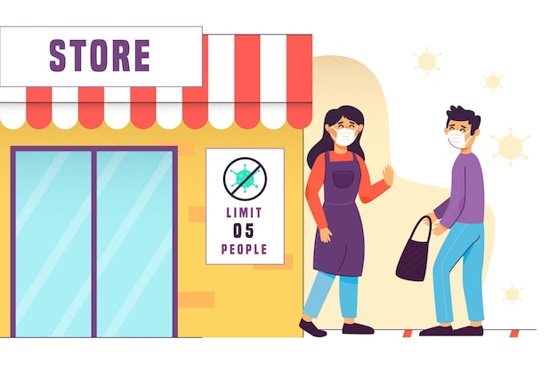 人数制限のある店舗