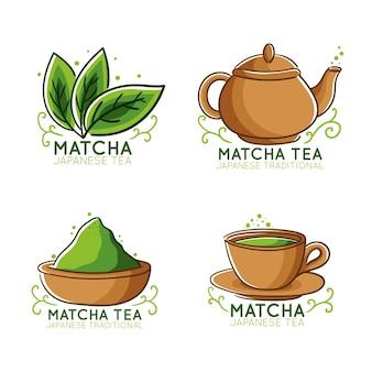 抹茶のバッジのコンセプト