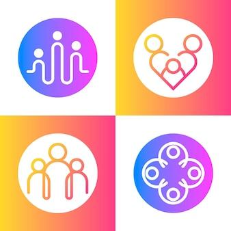 Концепция семейного логотипа