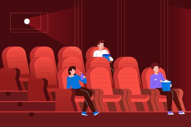 Социальное дистанцирование в кинотеатрах