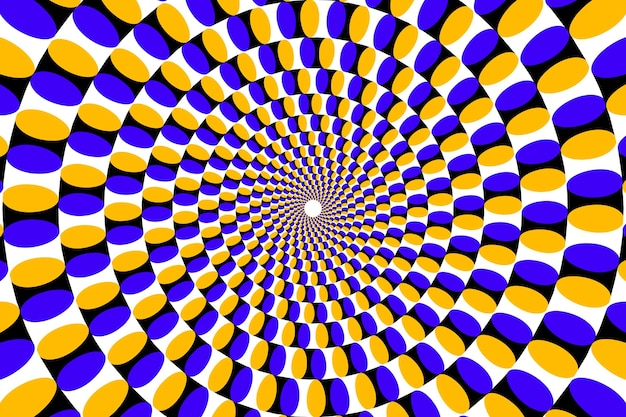 Психоделический оптический обман фона