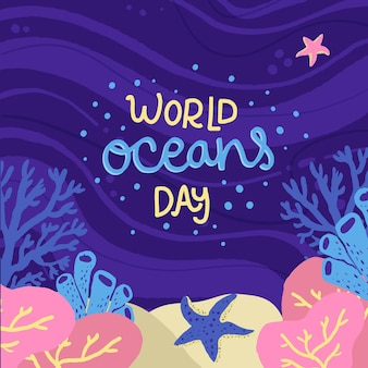 Ручной обращается всемирный день океанов