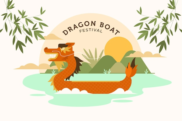 ドラゴンボートフェスティバルの背景