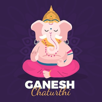 ガネーシュ・チャトゥルティのお祝い