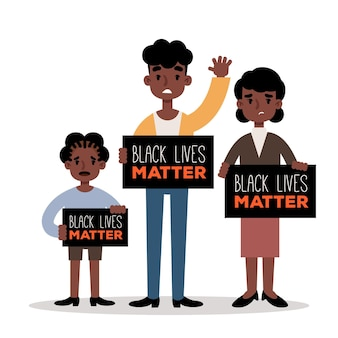 Черная жизнь имеет значение концепции
