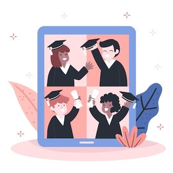 バーチャル卒業コンセプト