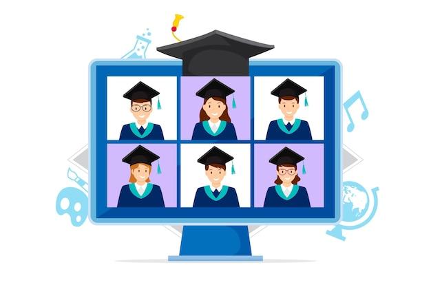 仮想卒業式のコンセプト