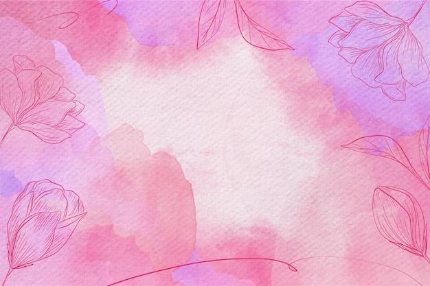 パウダーパステル水彩背景