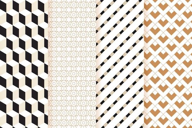 Коллекция минимальных геометрических узоров