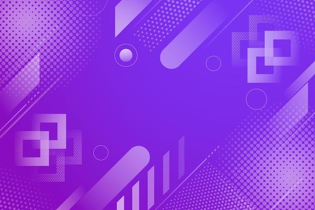 抽象的なハーフトーンの背景紫の線