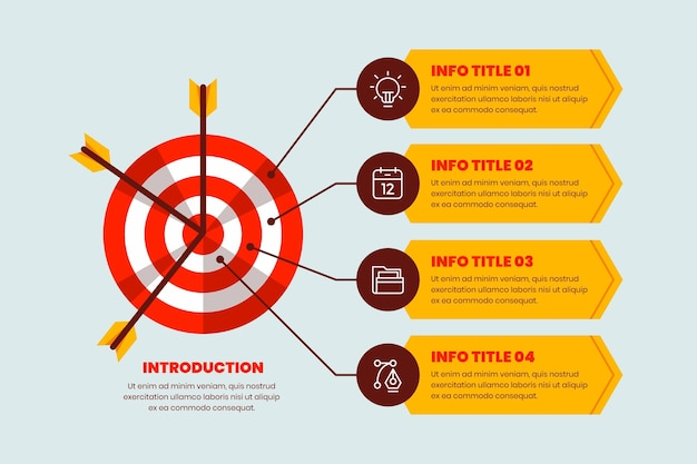 Инфографика цели