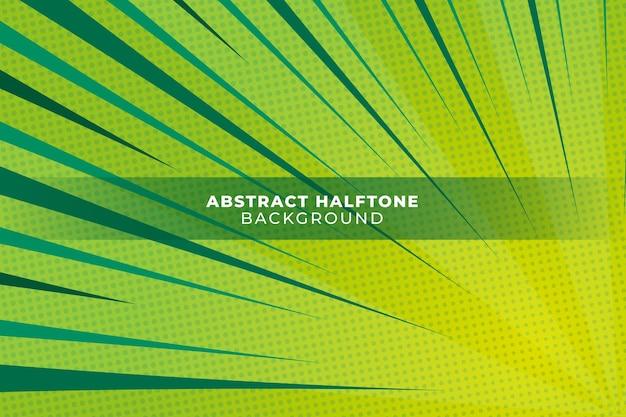 Абстрактный зеленый фон полутонов