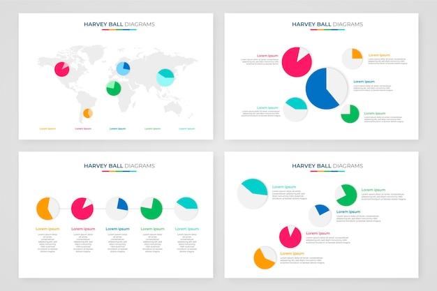 Харви шаровые диаграммы инфографики